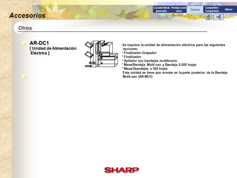 Accesorios Otros AR-DC1 [ Unidad de Alimentación Eléctrica ]